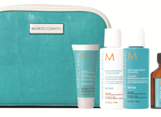 Morrocan oil Travel kit for travel essentials