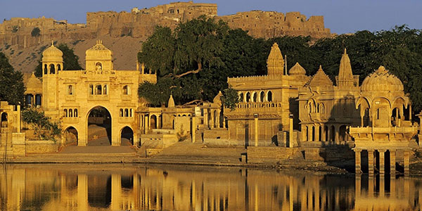 temples by the lake in Udaipur